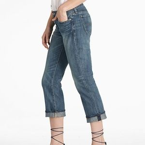 Lucky brand |classic rider crop jeans sz 0/25